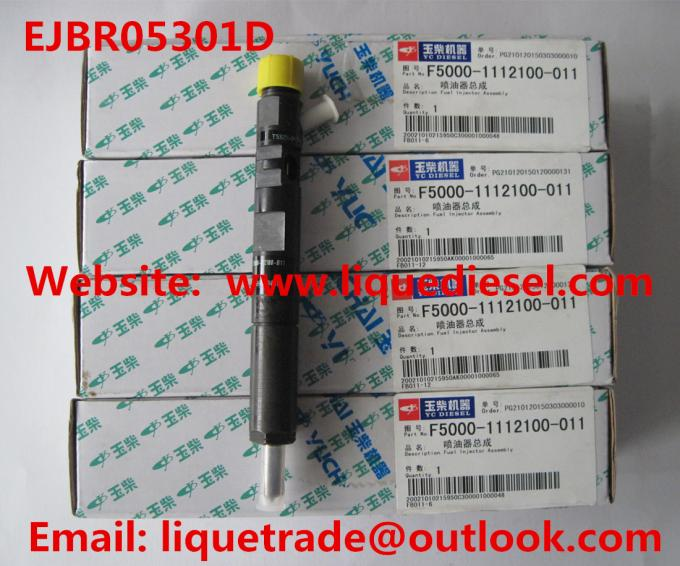 EJBR05301D Original Common Rail injector EJBR05301D for YUCHAI F50001112100011
