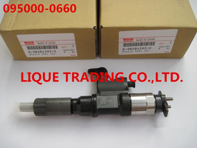 DENSO fuel injector 095000-0660 for ISUZU 4HK1, 6HK1 8982843930, 8-98284393-0, 8982843931