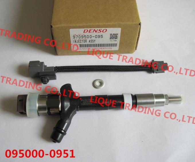 DENSO Common rail fuel injector 095000-0950, 095000-0951 , 9709500-095 for TOYOTA Dyna 23670-30040, 23670-39045