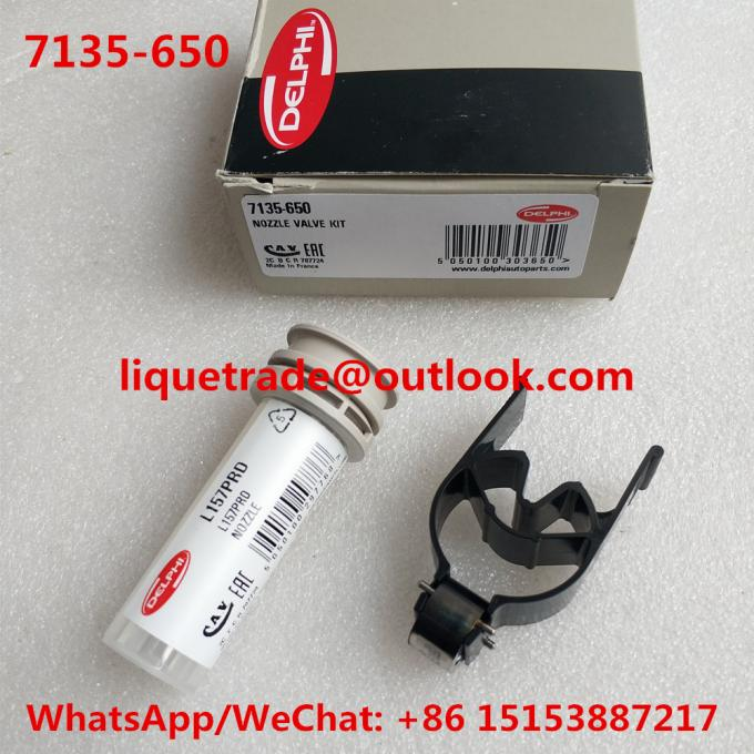 DELPHI Repair kits 7135-650 (include nozzle L157PRD + valve 28538389 ) Overhaul kits 7135 650 7135650