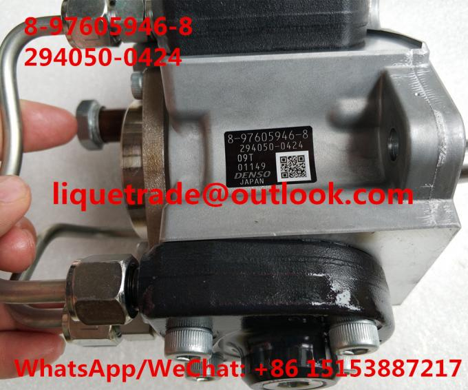 DENSO Genuine fuel pump 294050-0423 , 294050-042 ISUZU 8-97605946-7, 8976059467,97605946