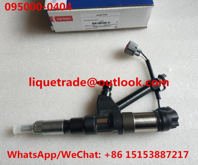 Denso Original INJECTOR 095000-0400 095000-0402 095000-0403 095000-0404 for HINO P11C 23910-1163 23910-1164