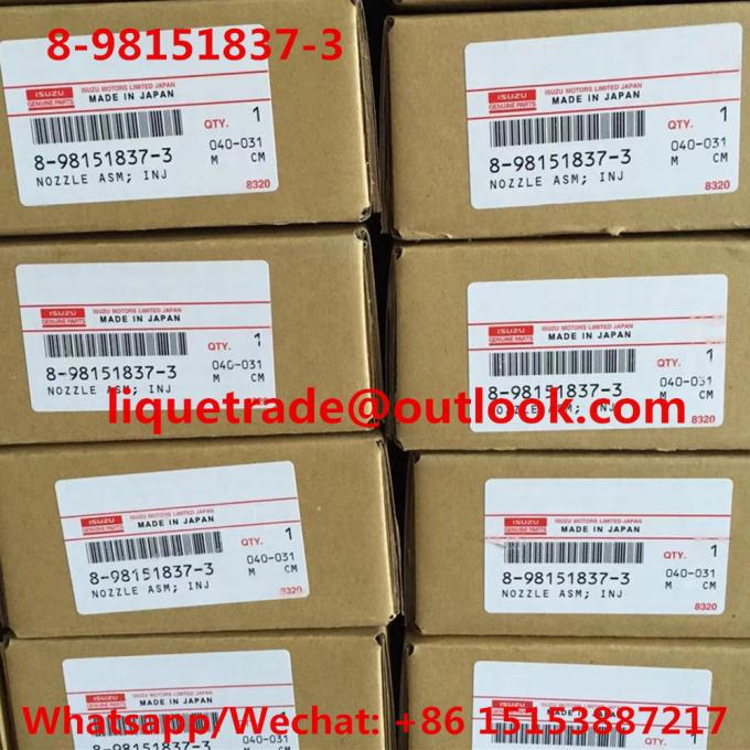 DENSO common rail injector 095000-8900 095000-8901 095000-8902 095000-8903 for ISUZU 8-98151837-3 , 8981518373
