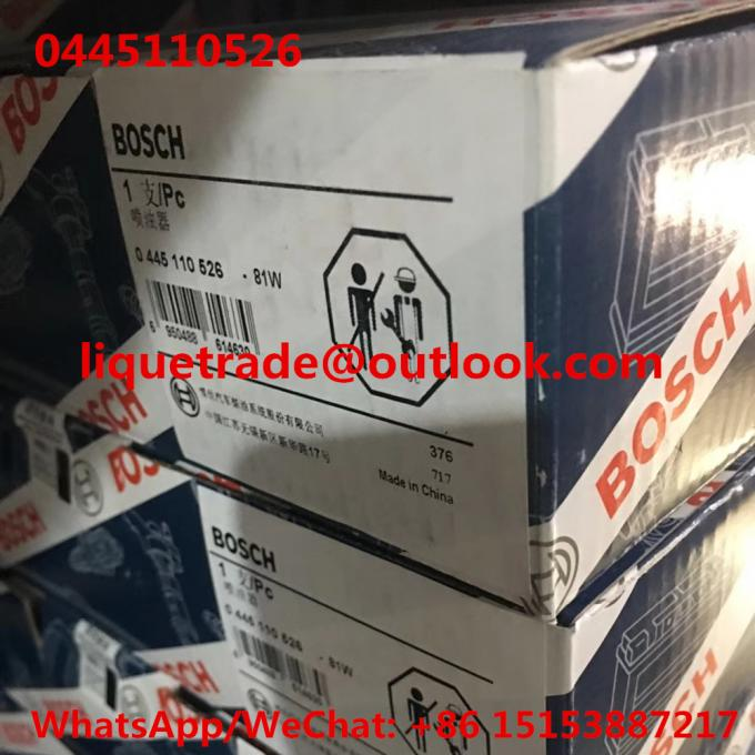 BOSCH INJECTOR 0445110526 Common rail injector 0 445 110 526 , 0445 110 526