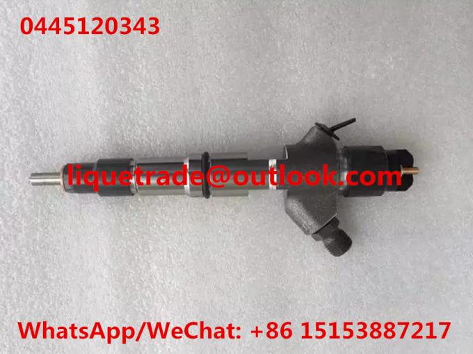 BOSCH Genuine injector 0445120343 Common rail injector 0 445 120 343 , 0445 120 343