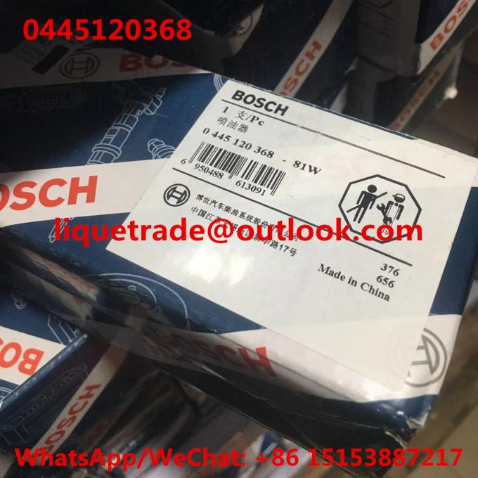 BOSCH INJECTOR 0445120368 GENUINE Common rail injector 0 445 120 368 , 0445 120 368