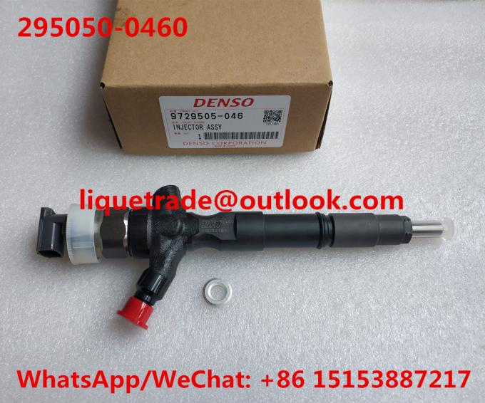DENSO 295050-0460 Genuine Common rail injector 295050-0460 295050-0200 for TOYOTA 23670-30400, 23670-39365