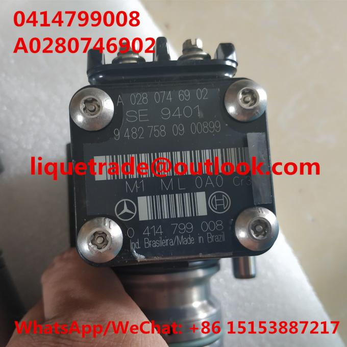 BOSCH Unit fuel pump 0414799008 , 0 414 799 008 for Mercedes Benz A0280746902 , A 028 074 69 02