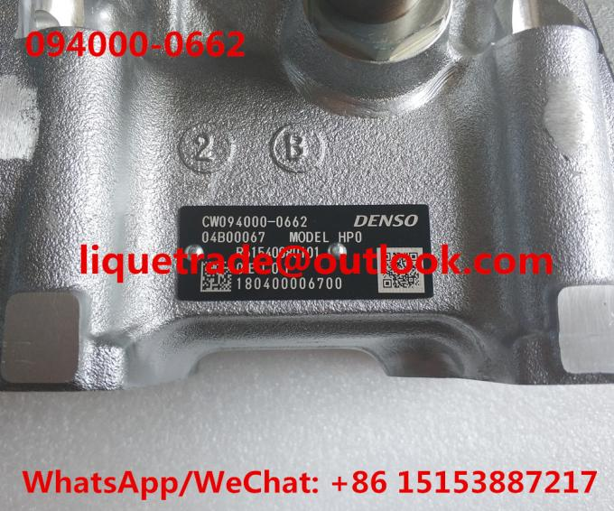 DENSO Genuine Fuel Pump 094000-0660 , 094000-0662 , 0940000662 , CW094000-06620D,  R61540080101 , 61540080101