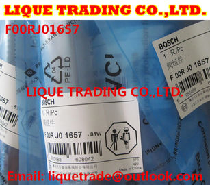 China BOSCH Genuine & New CR injector Valve F00RJ01657 for 0445120078 0445120124 0445120247 supplier