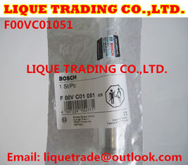 China BOSCH Genuine & New CR injector valve F00VC01051 for 0445110181, 0445110189, 0445110190 supplier