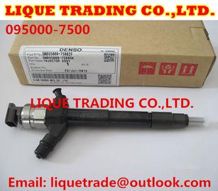 China DENSO Genuine Common rail injector 095000-7500 for MITSUBISHI Pajero Montero 4M41 1465A279 supplier