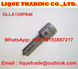 China DLLA155P848 DENSO Genuine and New common rail injector nozzle DLLA155P848 for 095000-6353 supplier