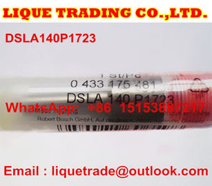 China BOSCH Common rail fuel nozzle DSLA140P1723, 0433175481 for 0445120123, 4937065 supplier