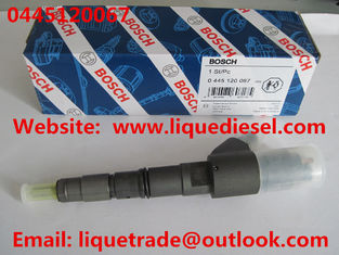 China BOSCH Genuine & New Common Rail Injector 0445120067 for DEUTZ 04290987,VOLVO 20798683 supplier