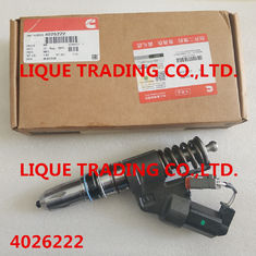 China CUMMINS INJECTOR 4026222 Genuine and original Fuel Common Rail Injector 4026222 supplier