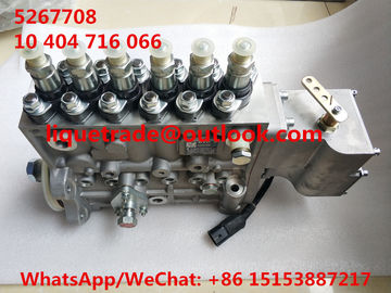China CUMMINS fuel pump 5267708 , 10404716066 , 10 404 716 066 , CPES6P120D120RS supplier