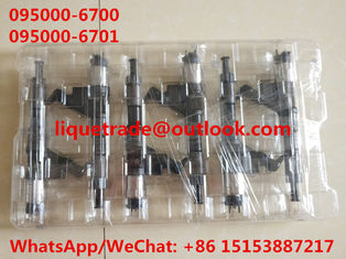 China DENSO common rail injector 095000-6700 , 095000-6701 for SINOTRUK HOWO VG61540080017A supplier