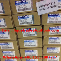 China DENSO Common Rail Injector 095000-1211 for Komatsu 6156-11-3300 , 6156113300 supplier