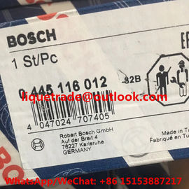China BOSCH INJECTOR 0445116012 GENUINE Common rail injector 0 445 116 012 , 0445 116 012 supplier