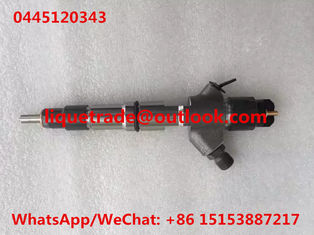 China BOSCH Genuine injector 0445120343 Common rail injector 0 445 120 343 , 0445 120 343 supplier