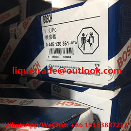 China BOSCH INJECTOR 0445120361 GENUINE Common rail injector 0 445 120 361 , 0445 120 361 supplier
