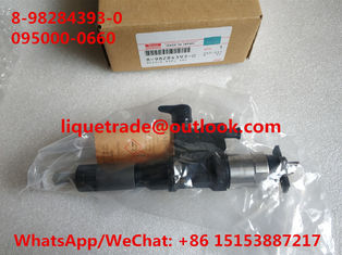 China DENSO Common rail injector 8-98284393-0 , 095000-0660 for ISUZU 8982843930 supplier