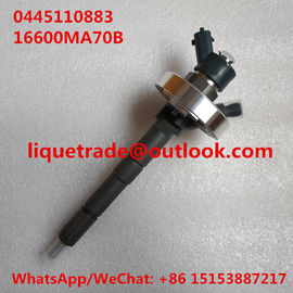 China BOSCH Common rail injector 0445110883 , 0 445 110 883 for 16600 MA70B / 16600MA70B / 16600-MA70B supplier