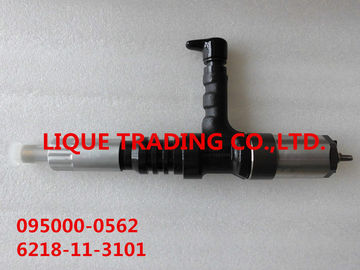 China DENSO Genuine injector 095000-0560 , 095000-0562, 095000-056#, 0950000560, 6218-11-3100, 6218-11-3102, 6218113100 supplier