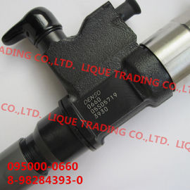 China DENSO Common Rail injector 095000-0660 for ISUZU 4HK1, 6HK1 8982843930, 8-98284393-0, 8982843931 supplier