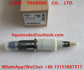 China BOSCH Common rail injector 0445120236, 4939061, 4940170 5263308, KOMATSU 6745-11-3100 supplier