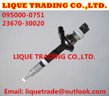 China DENSO Injector  095000-0750, 095000-0751, 095000-0530 for TOYOTA 23670-30020, 23670-39025 factory