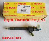 China BOSCH INJECTOR 0445110183 , 0 445 110 183 Genuine and new Common Rail injector 0445110183 , 0 445 110 183 factory
