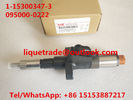 China DENSO injector 095000-0220, 095000-0221, 095000-0222 for ISUZU 6SD1 1153003470, 1153003473, 1-15300347-3 factory