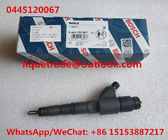 China BOSCH common rail injector 0445120067 , 0 445 120 067 for DEUTZ 04290987 factory