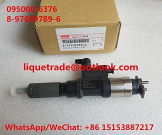 DENSO 6376 genuine common rail INJECTOR 095000-6376, 8-97609789-6 , 8976097896 , 97609789